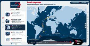 Tracking online de la regata Vendée Globe